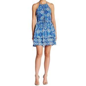 Parker Glacius Brocatto Dress.